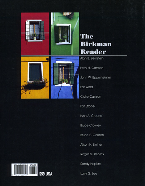 The Birkman Reader - Alan Bernstein